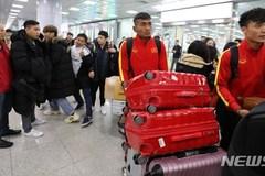 U23 team get training in RoK for AFC U23 Championship