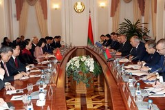 VN top legislator meets with Belarusian Prime Minister
