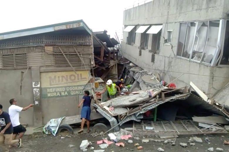 Động đất mạnh rung chuyển Philippines, nhiều người thương vong