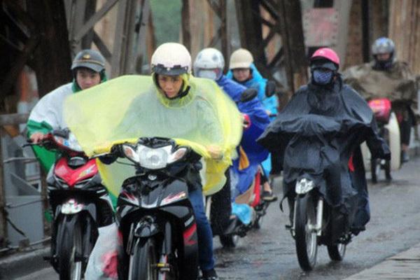 Thời tiết tuần tới, miền Bắc đón không khí lạnh kèm mưa rét