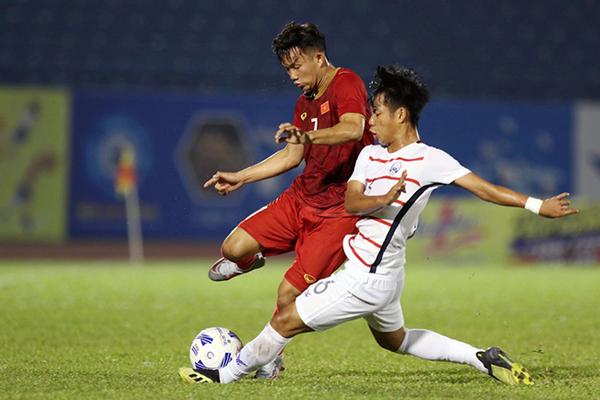 U20 Việt Nam thắng dễ U20 Campuchia, vào chung kết BTV Cup 2019