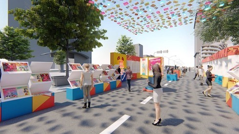 Book street set to open in HCM City for Tet holiday