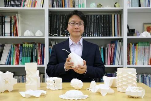 University of Tsukuba,geometric origami,Mitani Jun,3D Origami Art,Curved Origami Design