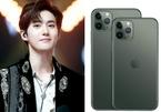 Fan ném iPhone 11 Pro Max lên sân khấu tặng Suho (EXO)