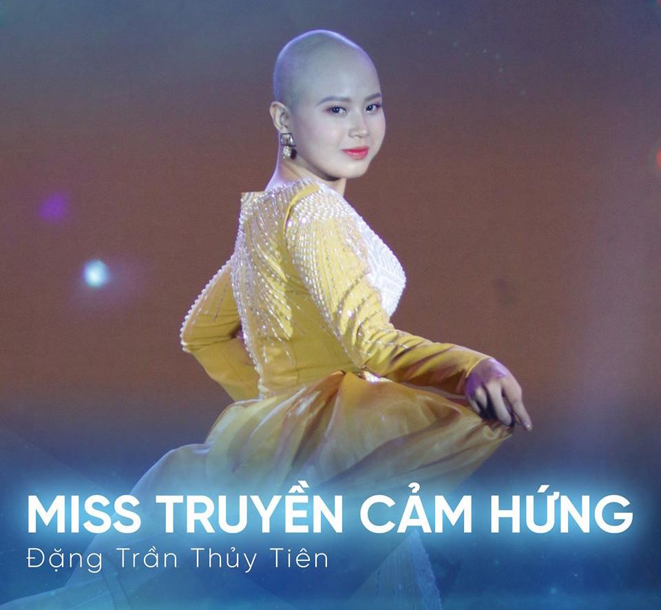 Nữ sinh ung thư giành giải Miss truyền cảm hứng: Ung thư không phải 'án tử hình'