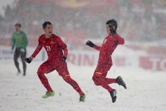 """""""Cầu vồng tuyết"""" của Quang Hải vào top biểu tượng U23 châu Á"""