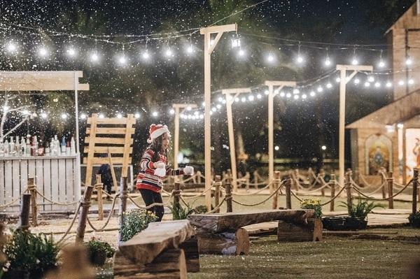 Mê mẩn làng Giáng sinh Bắc Âu ở Ecopark