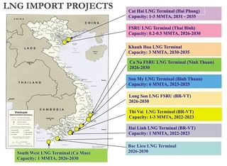 Proposed LNG projects hasten clean and ample energy supply