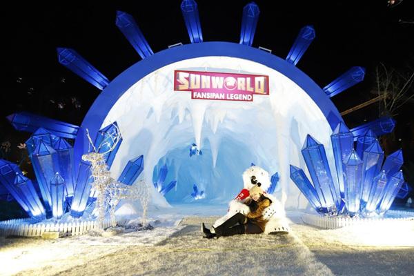 bà nà,lễ hội mùa đông,du lịch Fansipan