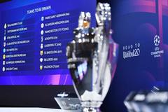 Trực tiếp bốc thăm vòng 1/8 Cúp C1: Real Madrid đụng Man City