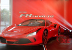 Cường đô-la tậu siêu xe Ferrari F8 Tributo đầu tiên về Việt Nam