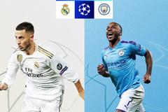 Real Madrid đại chiến Man City ở vòng 1/8 cup C1