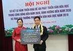 Ông Nguyễn Văn Phước nhận giải thưởng phát triển văn hoá đọc 2019