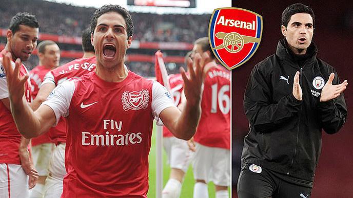 Arsenal,Mikel Arteta