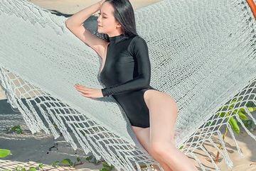 Mỹ nữ Phú Yên - vợ đại gia mía đường: 'Chồng hay cảm thán khi tôi mặc không kín đáo'
