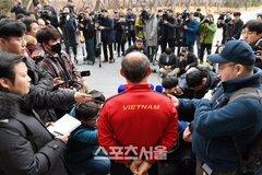 Phát sốt hình ảnh U23 Việt Nam cùng thầy Park tràn ngập báo Hàn