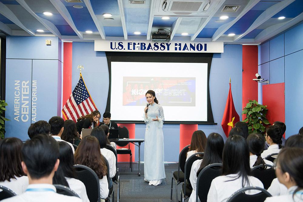 Người đẹp học giỏi nhất lịch sử Hoa hậu Việt Nam làm Đại sứ hòa bình
