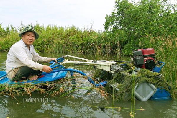 Máy cày siêu rẻ chạy dưới nước của 'kỹ sư vườn' mới học hết lớp 4