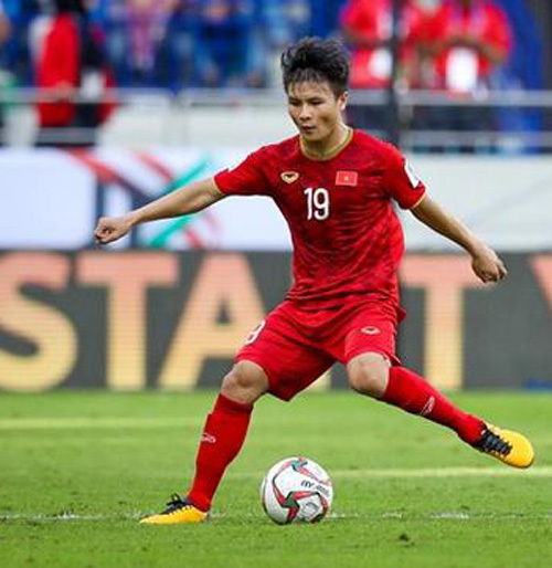 VN's midfielder Quang Hai to vie for Asian best player of 2019