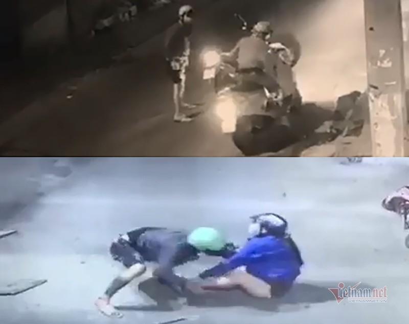 2 kẻ táo tợn cướp xe máy phụ nữ trên đường Sài Gòn đã bị bắt