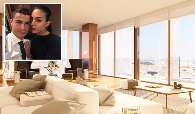 Ronaldo vung 185 tỷ mua căn hộ siêu sang ở Lisbon