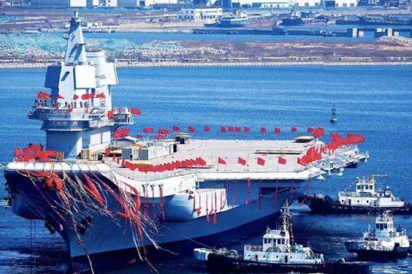 TQ chính thức bàn giao tàu tàu sân bay tự chế đầu tiên cho quân đội
