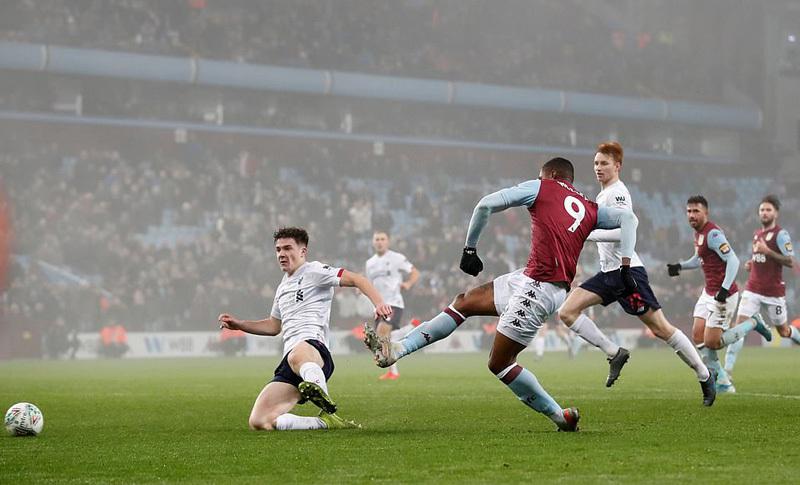 Liverpool thua tan nát 0-5 ở cúp Liên đoàn Anh