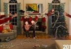 Gia đình Mỹ gây bão mạng với loạt ảnh Giáng sinh 'của nhà trồng được'
