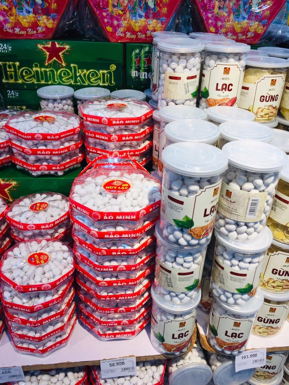 Mứt Tết tràn ngập thị trường, cẩn trọng sản phẩm handmade