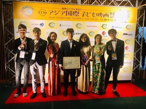 Hanoi students honoured at Asian International Children's Film Festival