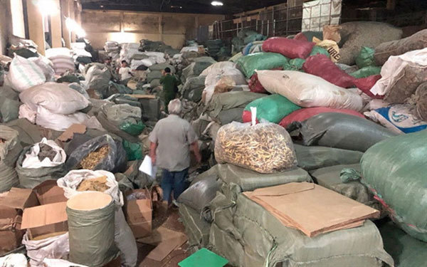 Authorities crack down on smuggling in of traditional medicinal herbs from China