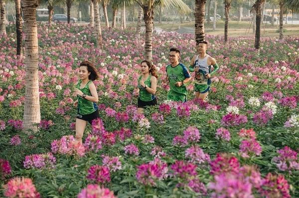 Ecopark Marathon - Chạy giữa miền xanh