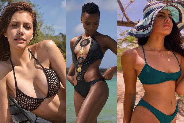 Đọ vẻ nóng bỏng của 6 nữ hoàng sắc đẹp năm 2019