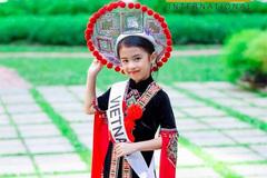 Vẻ đẹp thiên thần của Hoa hậu nhí châu Á-TBD 2019