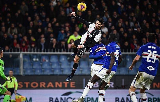 Ronaldo ghi bàn gây choáng, Juventus bỏ túi 3 điểm