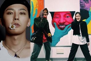 GD và Jennie ủng hộ triển lãm tranh đầu tiên của Mino (WINNER)