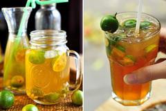 Sự thật trà chanh 'một vốn bốn lời' - 1 nắp hương liệu pha được... 4 lít trà