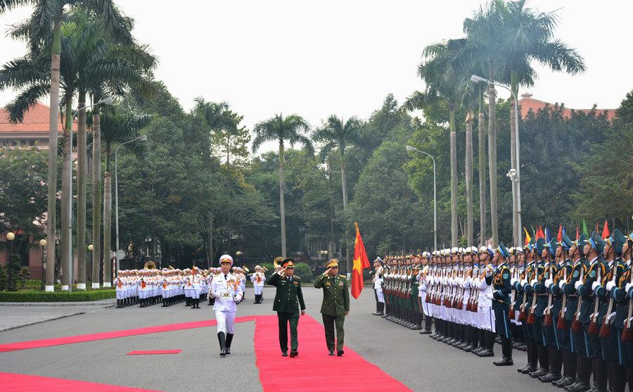 Myanmar,Bộ trưởng Quốc phòng,Ngô Xuân Lịch