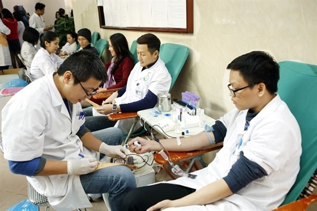 Hanoi Red Sunday expected to collect 50,000 blood units