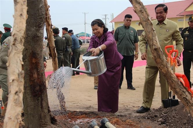 Vietnam, Cambodia hold joint rescue drill