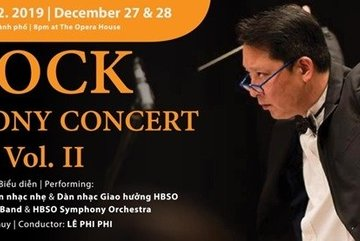 Rock Symphony concert to welcome New Year