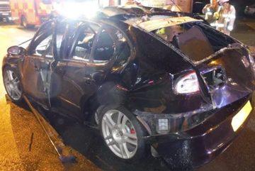 Bật lửa trong xe hơi, tài xế suýt mất mạng