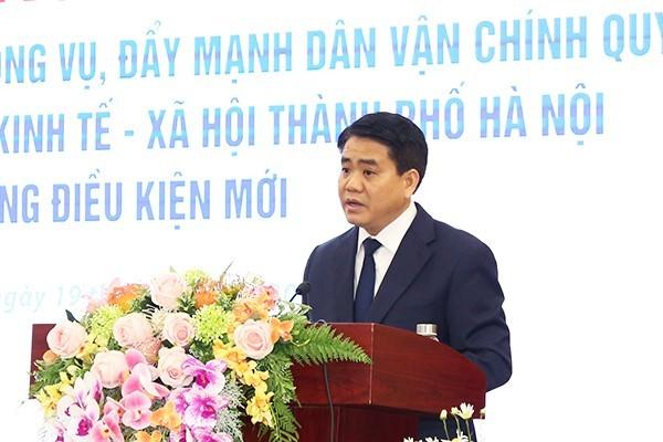 Chủ tịch Hà Nội: Một số nơi có biểu hiện kèn cựa địa vị, bè phái