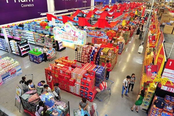 MM Mega Market tăng cường hàng hóa phục vụ nhu cầu mua sắm Tết