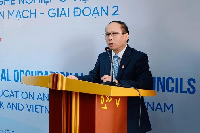 Khởi động pha 2 Dự án phát triển giáo dục nghề nghiệp Việt Nam - hợp tác Việt Nam - Đan Mạch
