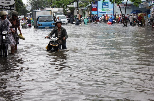 Expert proposes using chemical to fight flooding in HCM City