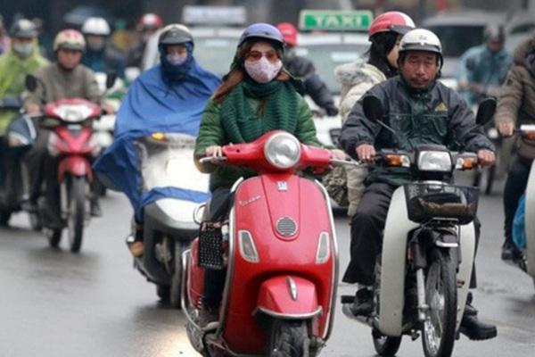 Dự báo thời tiết 20/12, Hà Nội mưa, rét 15 độ