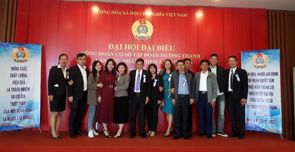 Ra mắt Ban Chấp hành Công đoàn cơ sở Tập đoàn Mường Thanh 2019 - 2023