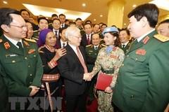 Tổng bí thư, Chủ tịch nước: Quân đội phải gương mẫu đi đầu, vô tư trong sáng