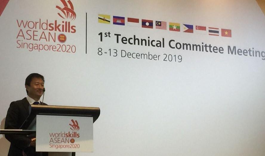 Khai mạc Hội nghị uỷ ban kỹ thuật kỳ thi tay nghề ASEANnăm 2020 tại Singapore